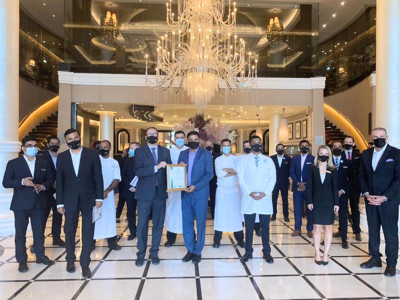Dukes Hotel Dubai awarded ISO 14001 certification by URS-ME