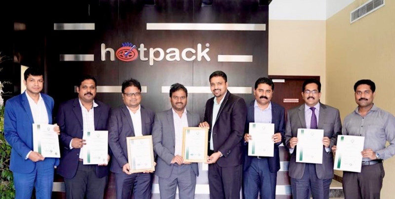URS-ME awards 2 certifications to Hotpack Industries
